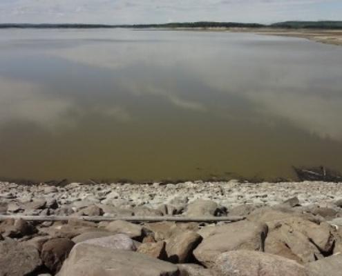 Boating and Fishing Brazeau Reservoir